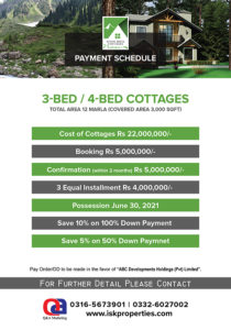 River Rock Cottages Payment Plan