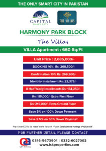 The Villas Payment Plan