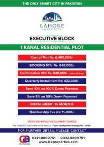 Lahore Smart City Payment Plan